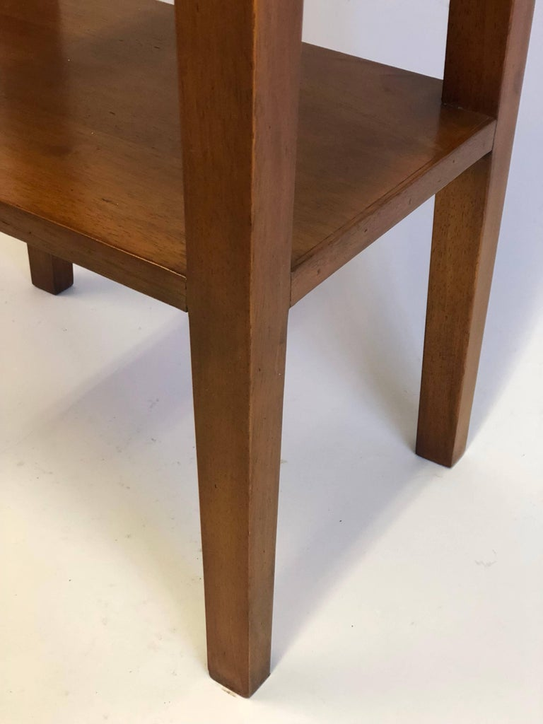Pair French Mid-Century Modern Style Marine Nightstands / End Tables  For Sale 4