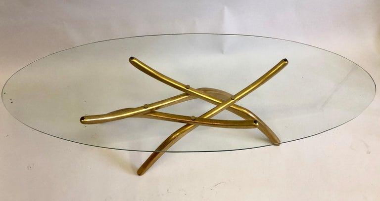 20th Century Rare Italian Mid-Century Modern 'Arachnid' Coffee Table Attr. to Carlo Mollino For Sale