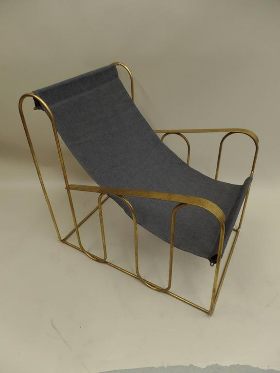 Pair Of French Lounge Chairs In The Style Of Jean Royere