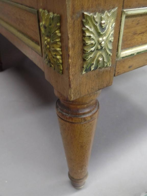 Pair of French Modern Neoclassical Stools / Benches Attributed to Jansen For Sale 1