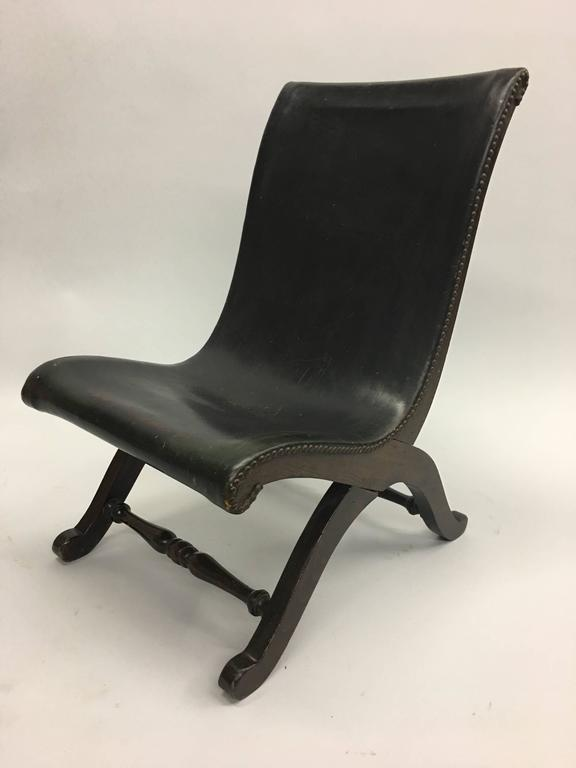 3 Mid-Century Modern Neoclassical Slipper / Lounge Chairs, Pierre Lottier, 1940  In Good Condition For Sale In New York, NY