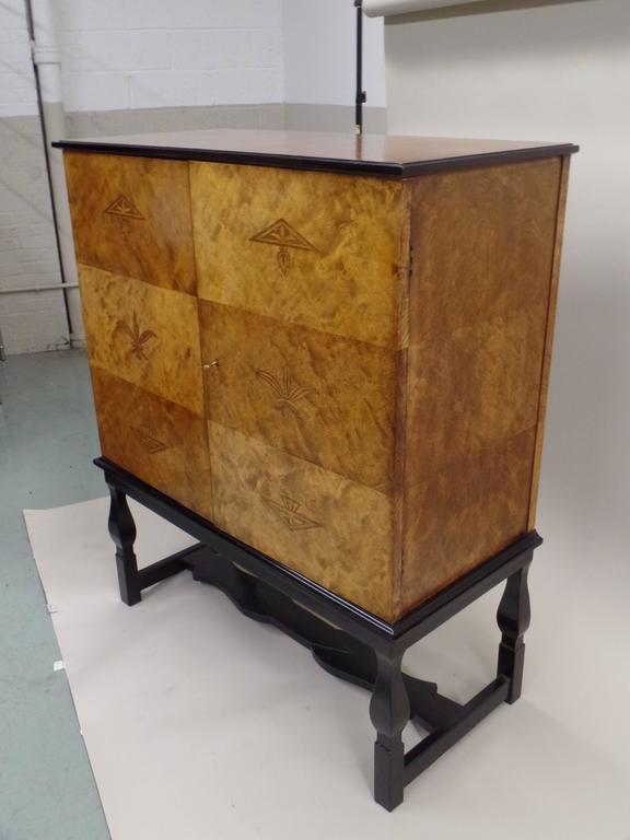 Scandinavian Modern Swedish Mid-Century Modern 'Haga' Sideboard, Carl Malmsten for Waldorf Astoria  For Sale