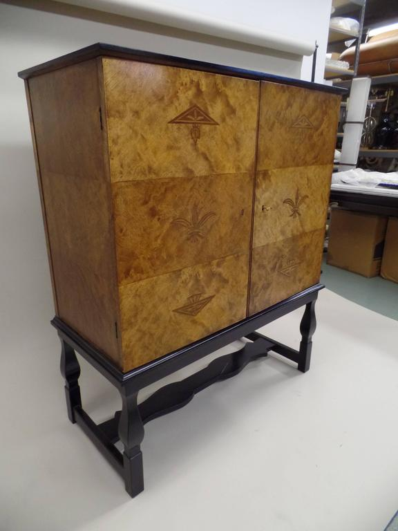 Veneer Swedish Mid-Century Modern 'Haga' Sideboard, Carl Malmsten for Waldorf Astoria  For Sale