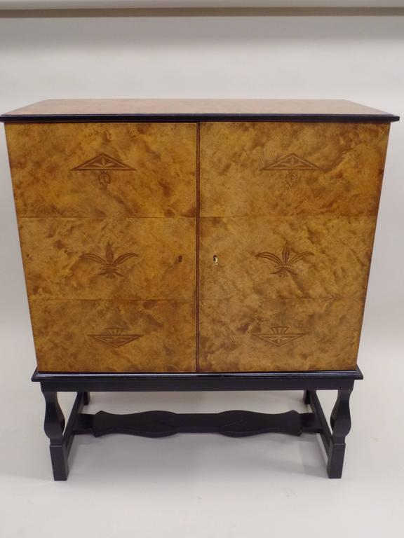 Swedish Mid-Century Modern 'Haga' Sideboard, Carl Malmsten for Waldorf Astoria  In Excellent Condition For Sale In New York, NY