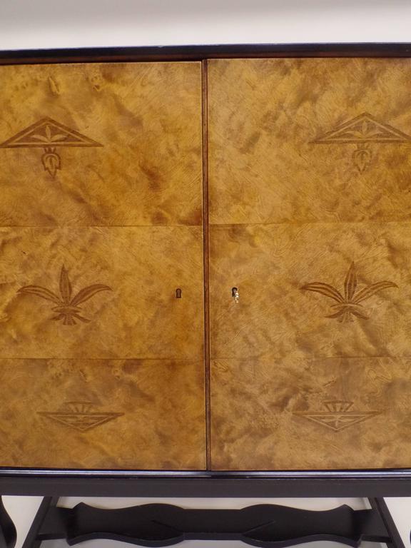 Swedish Mid-Century Modern 'Haga' Sideboard, Carl Malmsten for Waldorf Astoria  For Sale 1