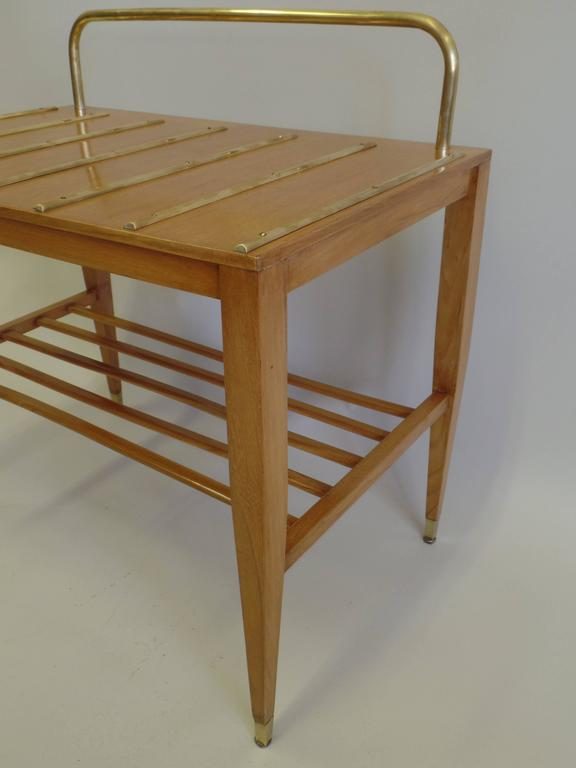 Mid-20th Century Pair of End Tables / Night Stands by Gio Ponti Made for the Hotel Royal For Sale