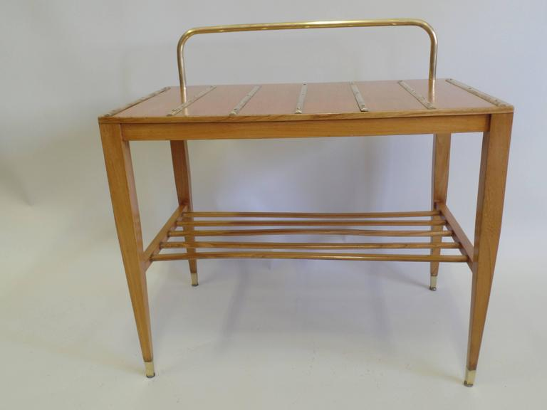 Mid-Century Modern Pair of End Tables / Night Stands by Gio Ponti Made for the Hotel Royal For Sale