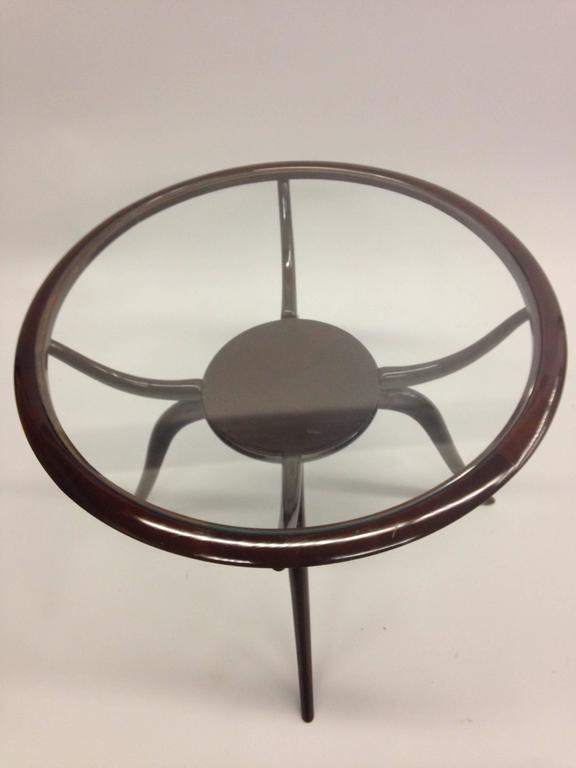 Italian Mid-Century Modern Arachnid Coffee / Side Table, Guglielmo Ulrich, 1940 In Good Condition For Sale In New York, NY