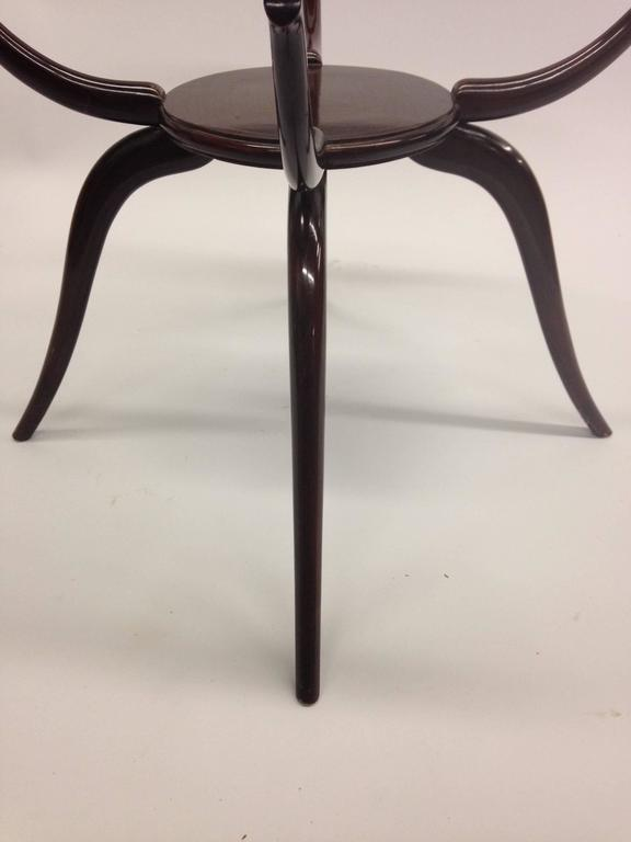 Italian Mid-Century Modern Arachnid Coffee / Side Table, Guglielmo Ulrich, 1940 For Sale 1