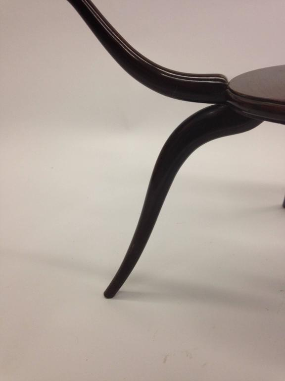 Italian Mid-Century Modern Arachnid Coffee / Side Table, Guglielmo Ulrich, 1940 For Sale 2