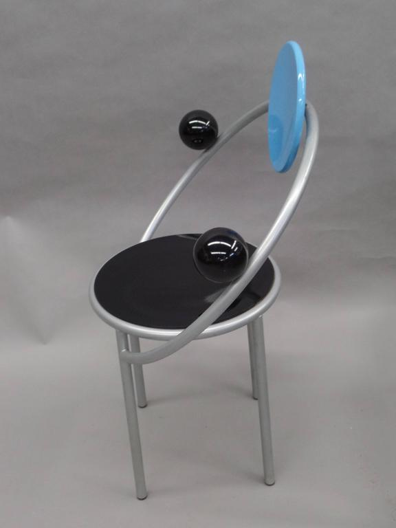 Late 20th Century 'First Chair' by Michele De Lucchi for Memphis Milano For Sale