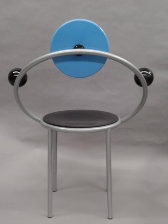 'First Chair' by Michele De Lucchi for Memphis Milano For Sale 1