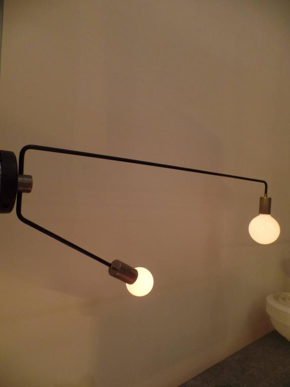 Wall Extension Light : Four Modern Articulating Wall Arm Extension Lights / Sconces For Sale at 1stdibs