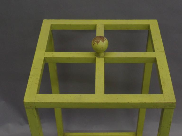 Early Modernist Umbrella Stand with Original Paint 5