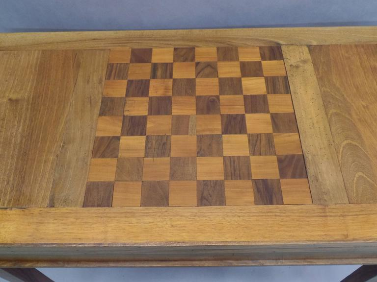 French Modern Neoclassical Louis XVI Style Game Table or Writing Desk, 1940 For Sale 2
