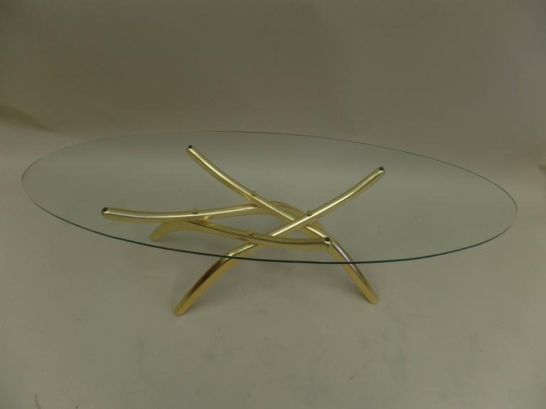 Rare Italian Mid-Century Modern 'Arachnid' Coffee Table Attr. to Carlo Mollino In Good Condition For Sale In New York, NY