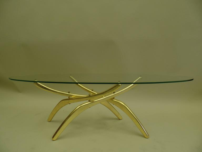 Important Italian 1950s Prototype Cocktail Table Attributed to Carlo Mollino 4