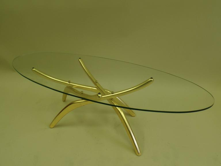 Important Italian 1950s Prototype Cocktail Table Attributed to Carlo Mollino 5