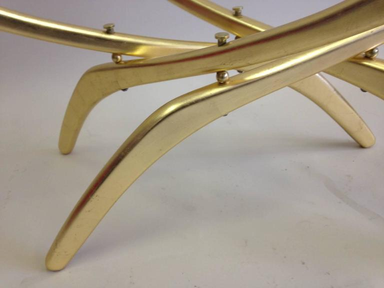 Rare Italian Mid-Century Modern 'Arachnid' Coffee Table Attr. to Carlo Mollino For Sale 1