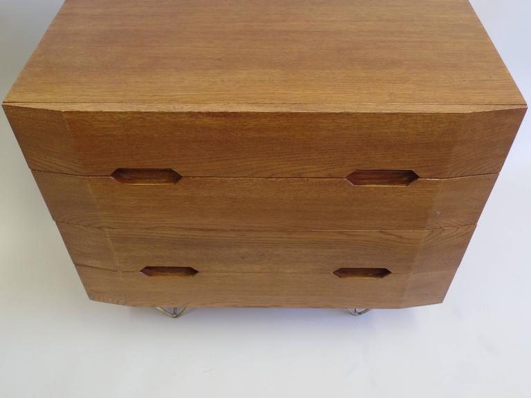 Two Important Italian Commodes or Chests of Drawers Circle of Gio Ponti 4