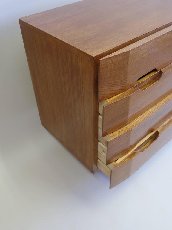 Two Important Italian Commodes or Chests of Drawers Circle of Gio Ponti 8
