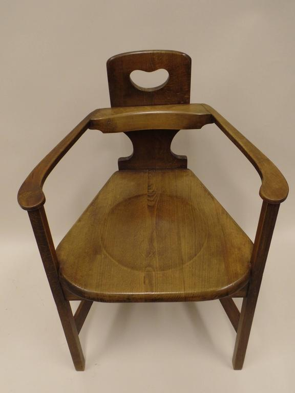 Modern A Rare And Important Chair In Furniture History By Richard  Riemerschmid For Sale