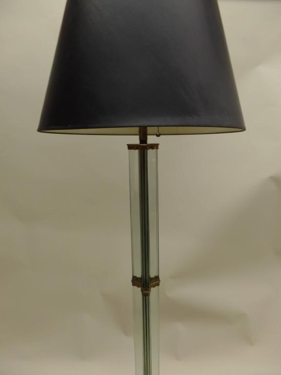 Italian Modern Glass Column Floor Lamp by Pietro Chiesa for Fontana Arte 1930 3