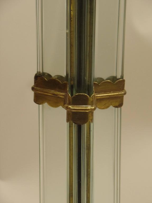 Italian Modern Glass Column Floor Lamp by Pietro Chiesa for Fontana Arte 1930 6