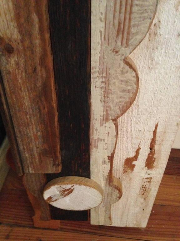 Abstract Wood Collage by Felice Antonio Botta, Italy, 20th Century For Sale 3