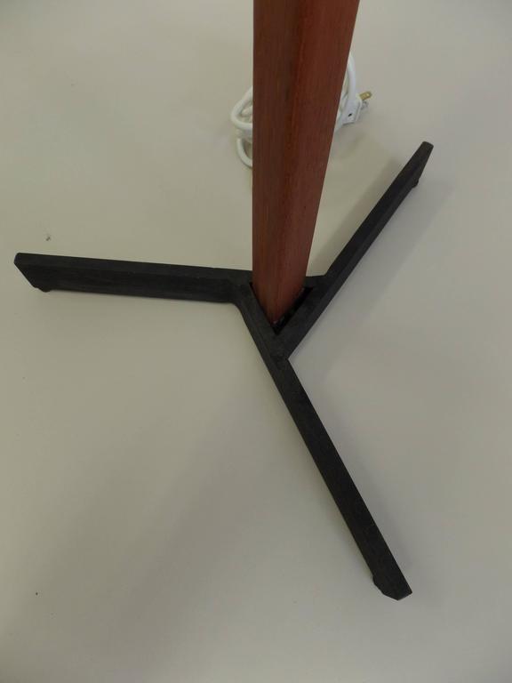 Pair of MId-Century Scandinavian Modern Adjustable Floor Lamps 9