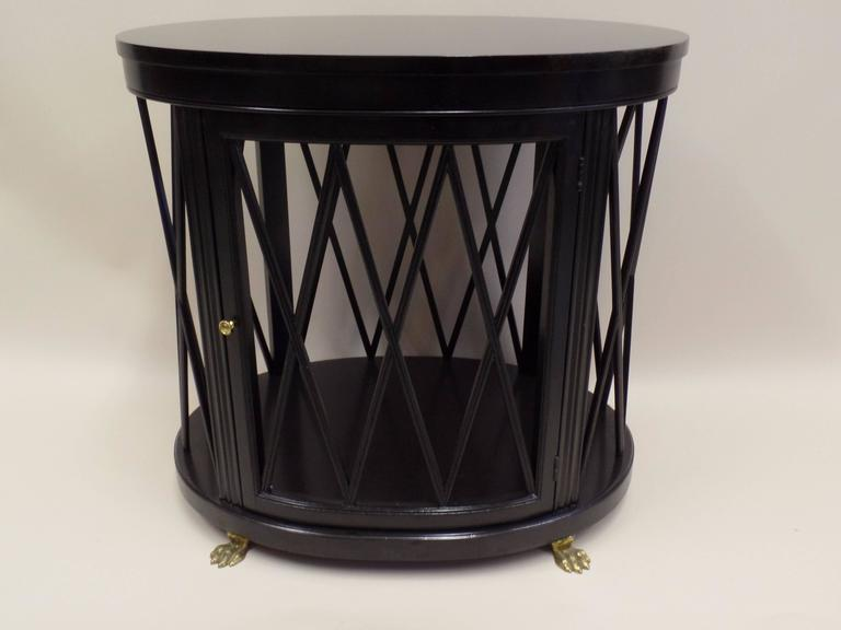 Pair of Large French Modern Neoclassical Side Tables /Consoles by Maison Jansen 3