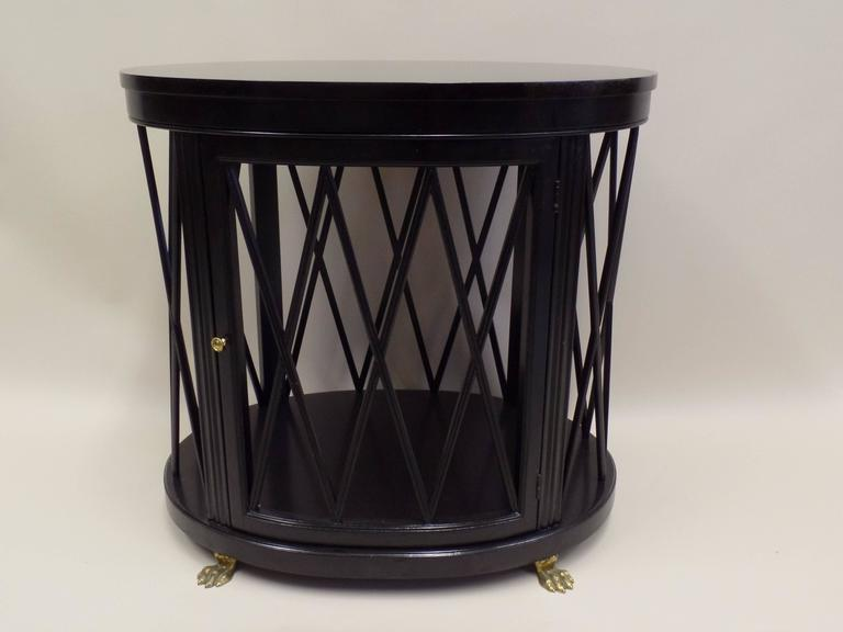Pair of Large French Modern Neoclassical Side Tables /Consoles by Maison Jansen 4