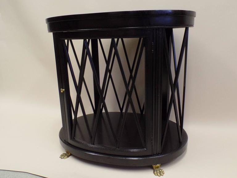 Pair of Large French Modern Neoclassical Side Tables /Consoles by Maison Jansen 5