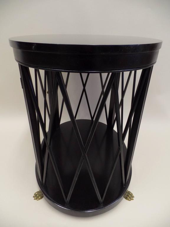 Pair of Large French Modern Neoclassical Side Tables /Consoles by Maison Jansen 6