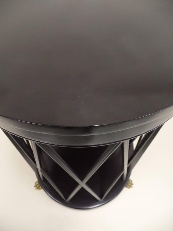 Pair of Large French Modern Neoclassical Side Tables /Consoles by Maison Jansen 8