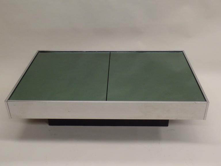 Italian Mid-Century Expandable Coffee Table & Pair of End Tables by Willy Rizzo 5