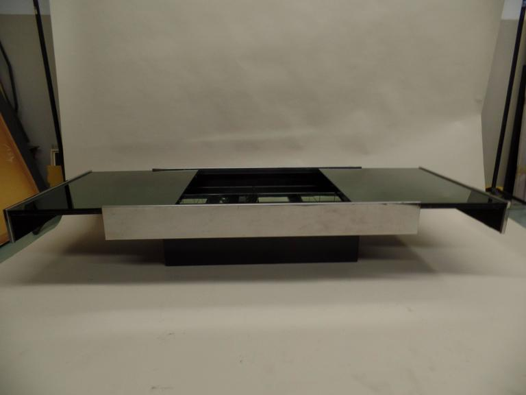 Italian Mid-Century Expandable Coffee Table & Pair of End Tables by Willy Rizzo 6