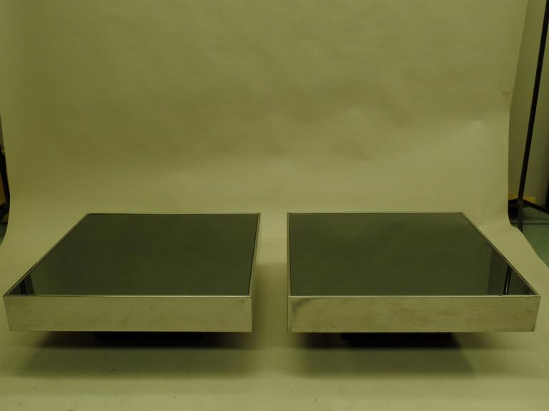 Italian Mid-Century Expandable Coffee Table & Pair of End Tables by Willy Rizzo 7