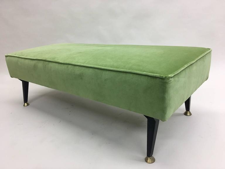 Italian Mid-Century Modern Bench in the Style of Osvaldo Borsani 4