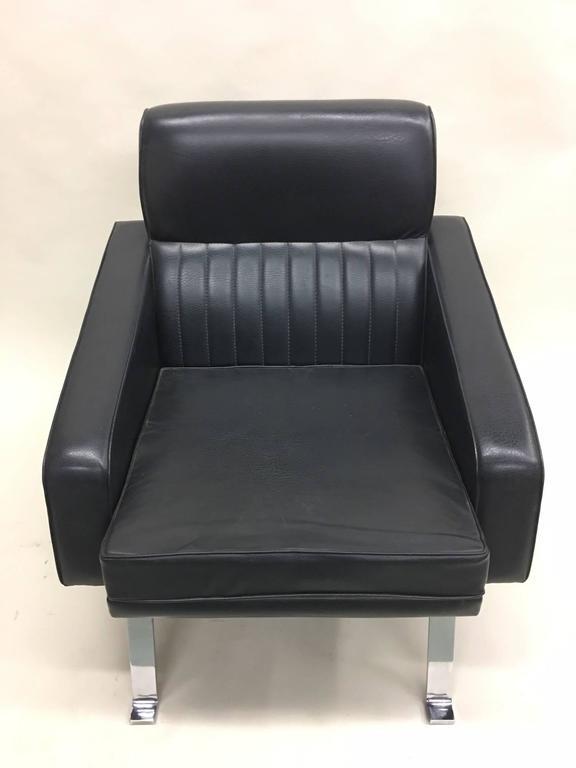 Pair Italian Midcentury Lounge Chairs, Style of Ignazio Gardella, Diagramma For Sale 2