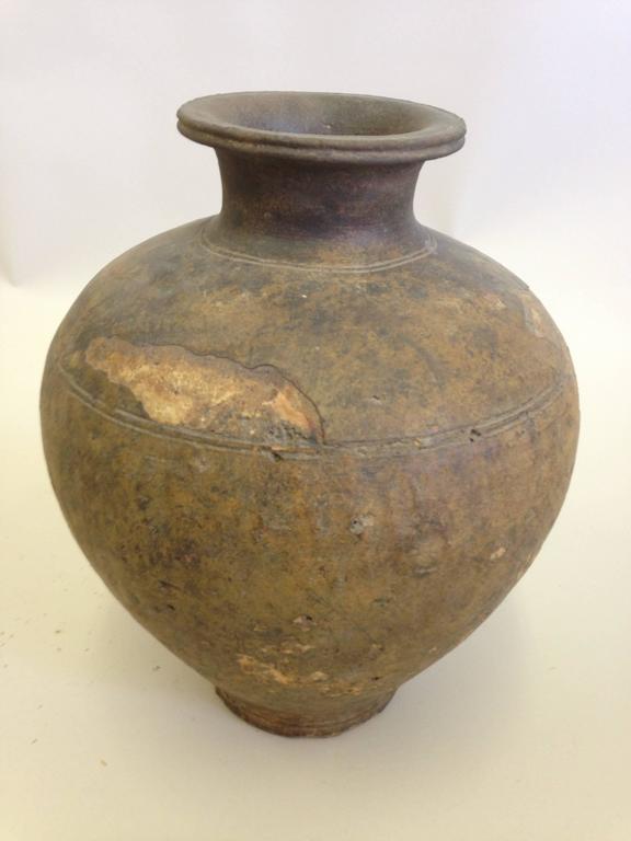 Large Ancient Khmer Urn Or Vase For Sale At 1stdibs