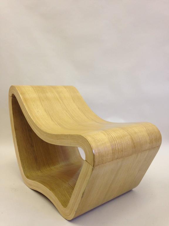 2 Italian Mid-Century Modern / Minimalist Sculptures / Modern Lounge Chairs 1950 For Sale 4