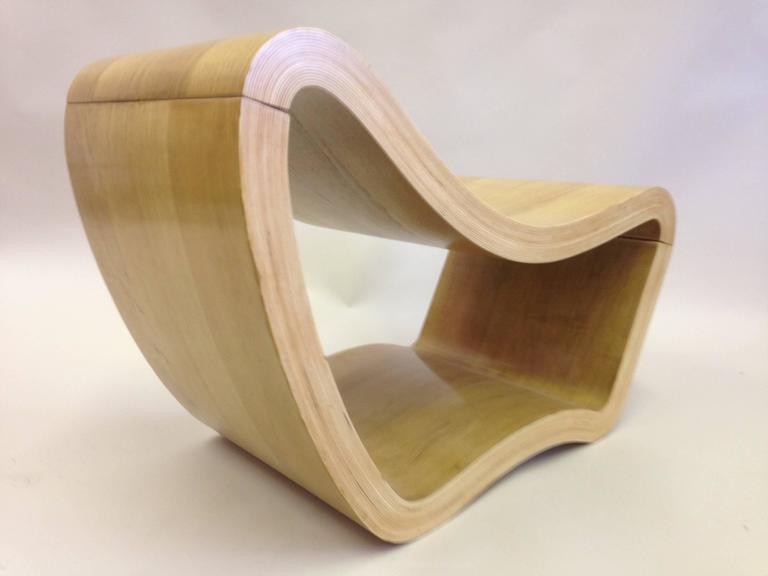 2 Italian Mid-Century Modern / Minimalist Sculptures / Modern Lounge Chairs 1950 For Sale 1