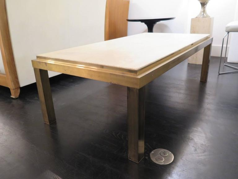 20th Century Mid-Century French Bronze Table For Sale