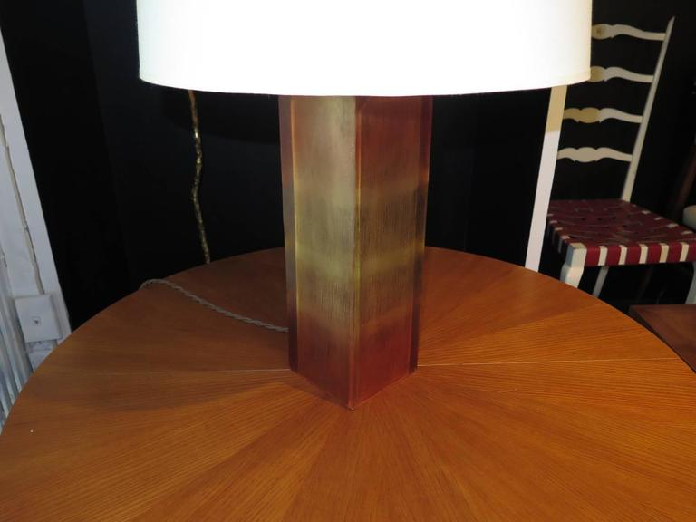 Pair of Resin Base Table Lamps For Sale 1