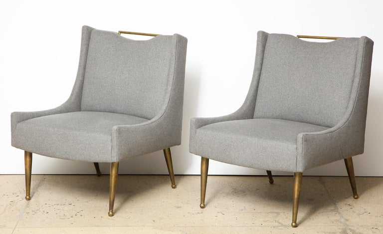 Paul McCobb Slipper Chairs In Good Condition For Sale In New York, NY