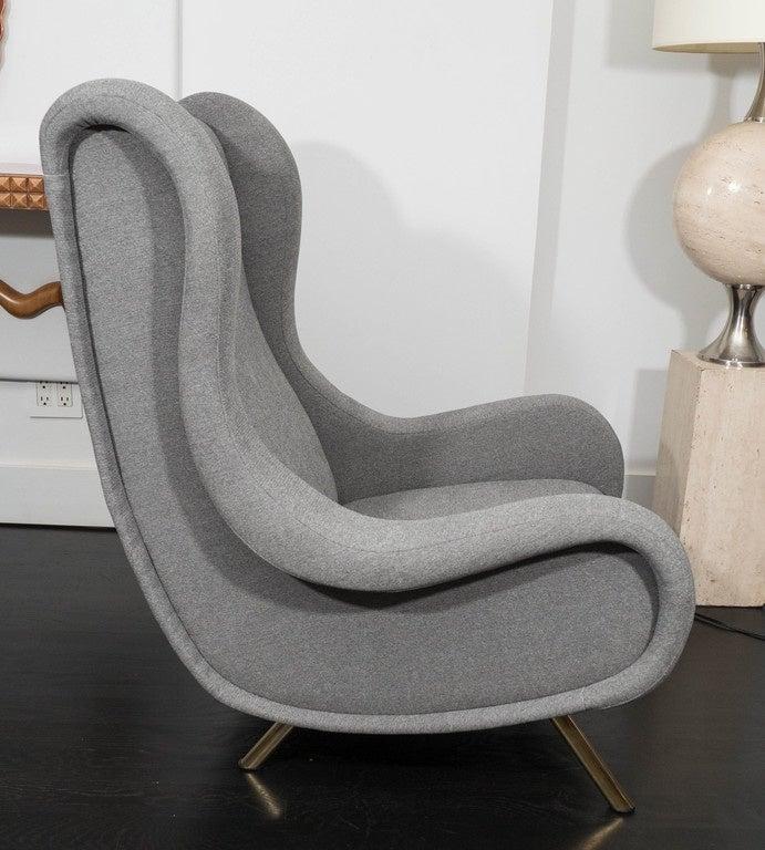 20th Century Marco Zanuso Senior Chair For Sale