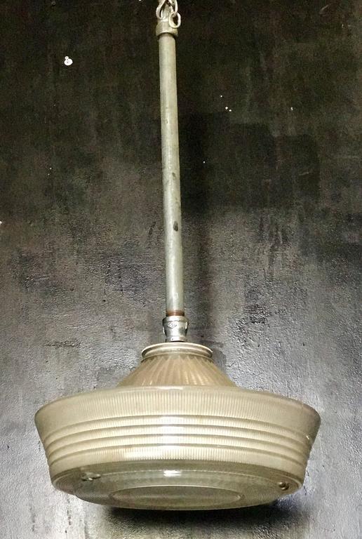 Industrial Pendant Lighting, 1940s 1