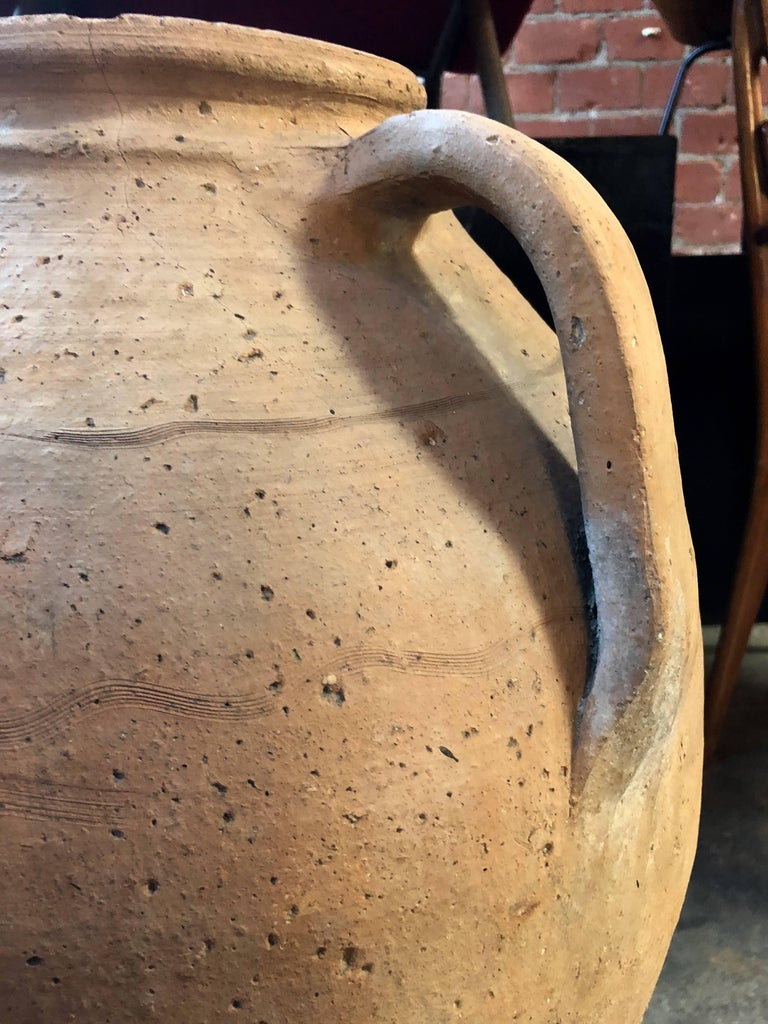 Italian Large 18th Century Terracotta Jar For Sale 1