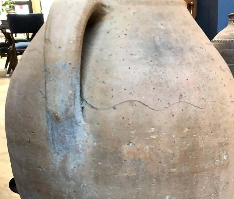 Italian Large 18th Century Terracotta Jar For Sale 2